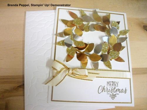 Wreath Card-Leaf Punch