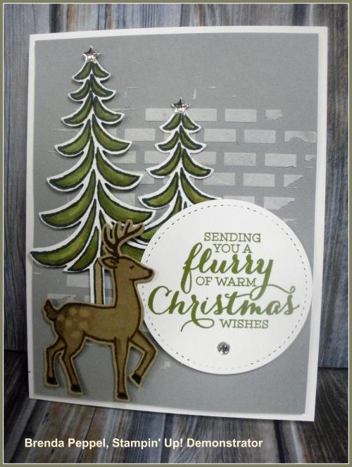 Santa's Sleigh Card-far