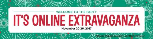 2017 Online Extravaganza Banner