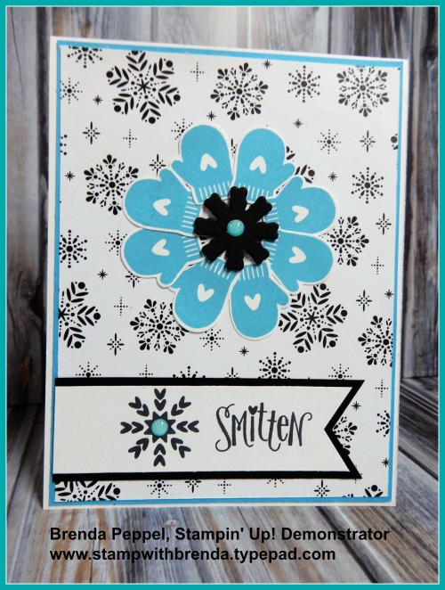 Smitten Mitten Winter Card