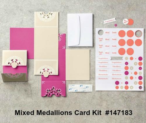 Mixed Medallions Card Kit