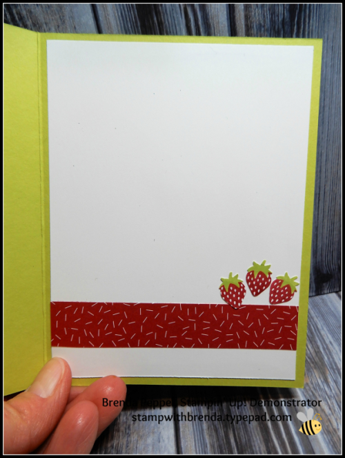 Fruit Basket Card-Inside