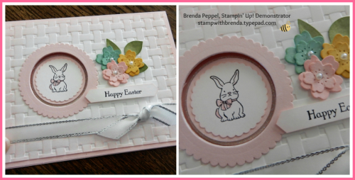 Easter-pink card collage