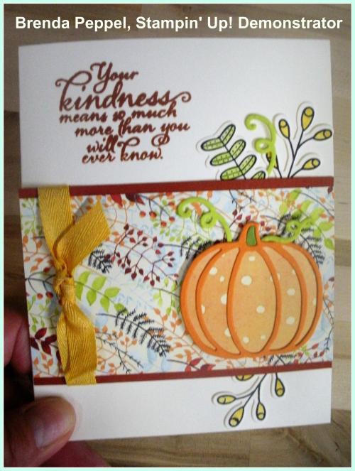 Pick a Pumpkin Card