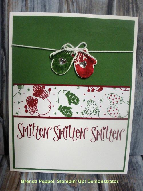 Smitten Mitten Card