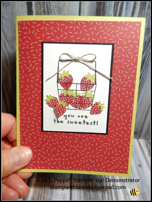 Fruit Basket Card-Front