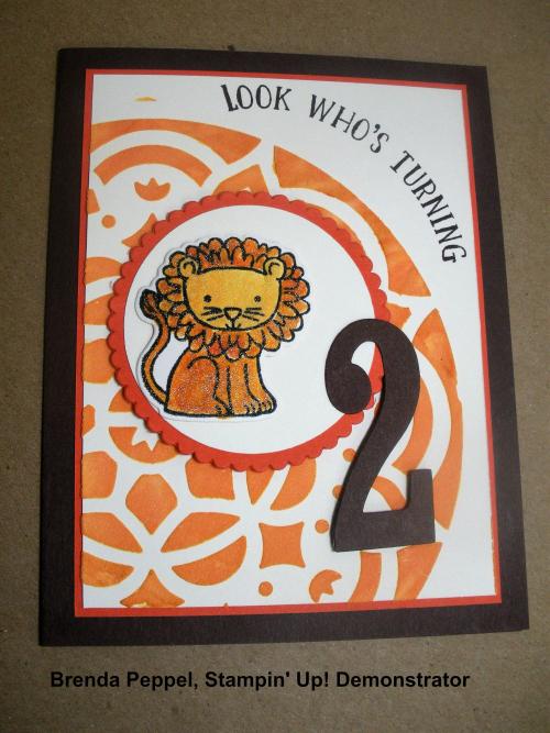 A Little Wild BD Card