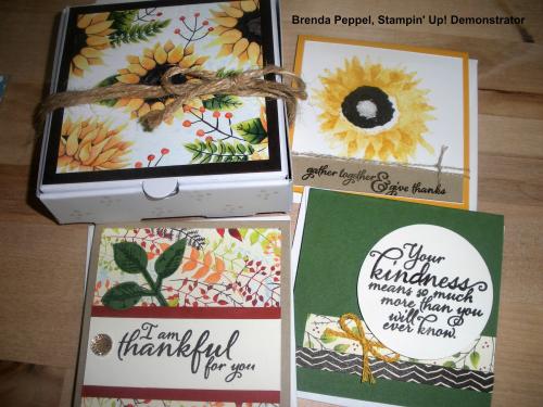 Painted Autumn-Pizza Boxes