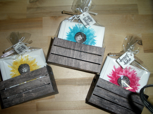 Painted Harvest gift card set