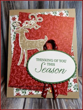 Detailed Deer Card 18