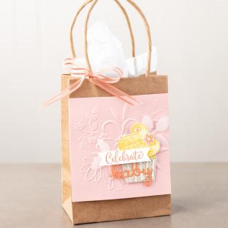 Gift Bag using Organdy Ribbon
