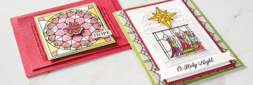 Graceful Glass Vellum-Xmas Cards