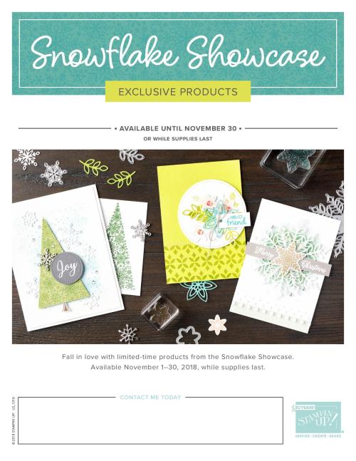 Snowflake Showcase pg 1