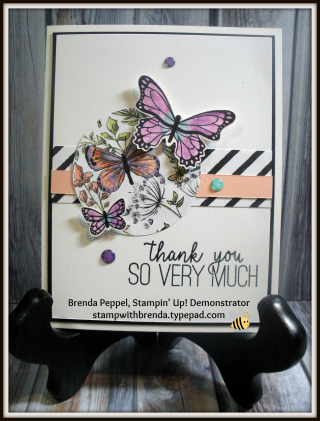 Butterfly Gala-Thank You Card